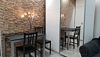 Cosy atmosphere for a nice dinner with extendable table